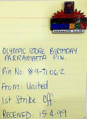 Rare Samples - Olympic Store 2Nd Birthday Sydney 2000 Olympic Games Pins (#72)