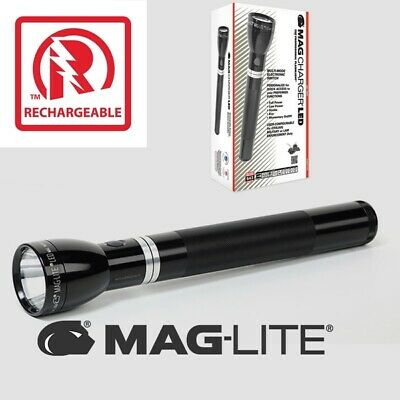 MAGLITE MAGCHARGER LED 643 lumens Rechargeable flashlight System RL4019U
