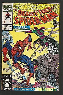 Deadly Foes of Spider-Man #1 (May 1991, Marvel) f15