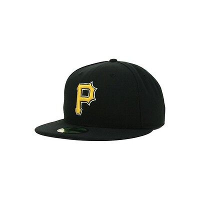 Casquette MLB Pittsburgh Pirates New Era authentic performance 59fifty noir