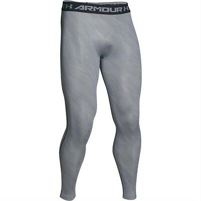 Bas de Compression Under Armour Heat Gear Legging Printed Gris Clair