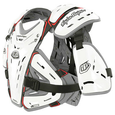 Troy Lee Designs NEW TLD Mx CP5955 White Chest Protector Motocross Body Armour