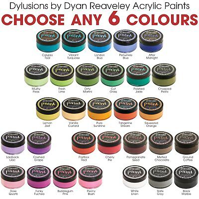Dylusions Acrylic Paint by Dyan Reaveley - Choose Any 6 Colours