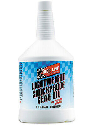 1 x Redline Lightweight ShockProof Gear Oil 946ml (58404)