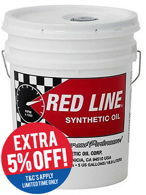 1 x Redline Lightweight ShockProof Gear Oil 18.93L (58406)
