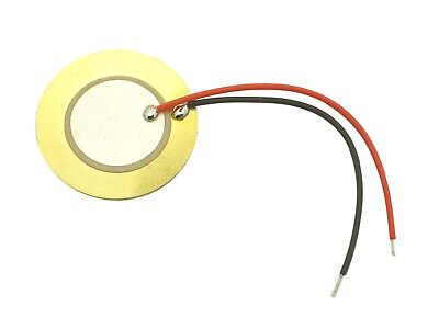 1x Piezo-Element 300Ω ø27mm 4,6kHz (E-Drum-Trigger,Pickup,Resonanzkörper,Piezos)