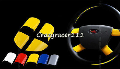 4Pcs Steering Wheel Insert Cover Decoration For Ford Focus MK2 MKII 05-12