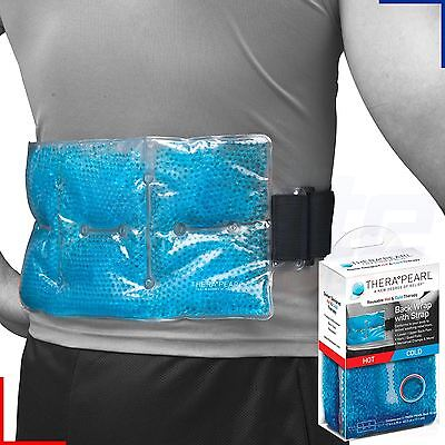 Therapearl Hot Cold Ice Back Lumbar Wrap Strap Reusable Injury Relief