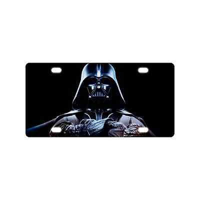 Star Wars Darth Vader Cool Metal Car Tag License Plate for Car 6 x 12 Inches
