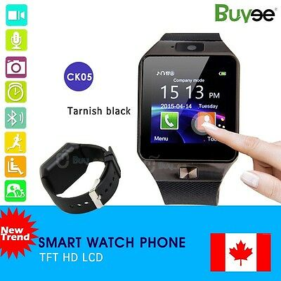 Buyee Bluetooth Smart Watch for Samsung Sony HTC Android Phone with Camera SIM