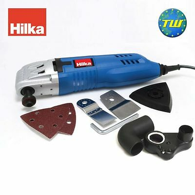 Hilka Corded Oscillating Multi Tool with Accessories 220W 240V PTCMT220W