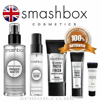 Smashbox Photo Finish foundation primer oil-free,water, 7,12,15,30ml ORIGINAL!