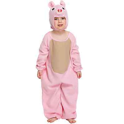 Toddler Pig Fancy Dressing Up Costume Outfit Baby Book 3 Years Pink Onesie Baby