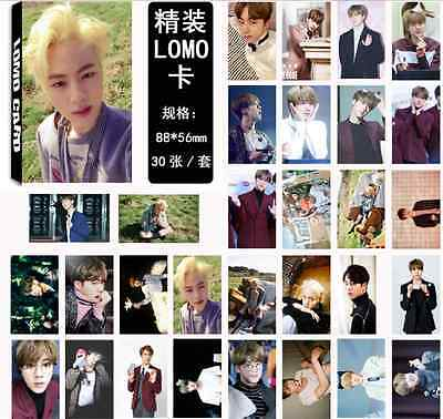 30pcs set Kpop JIN Personal PhotoCard Picture Poster New Lomo Cards