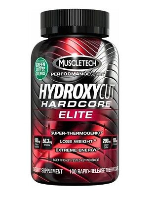 Muscletech Hydroxycut Hardcore Elite 100 Caps - Weight Loss