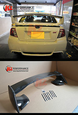 SUBARU IMPREZA CARBON FIBER 4DR SALOON WRX STi 2008 to 2011 INC BOLTS