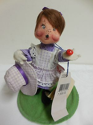 "NEW~WT 1998 Annalee 7"" ""SPRING GIRL"" Doll Figurine #159998 VINTAGE!"