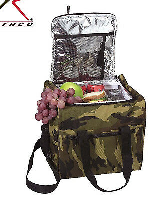 Cooler Large Camo Insulated Cooler Bag Lunch Cooler Shoulder Strap Rothco 2308