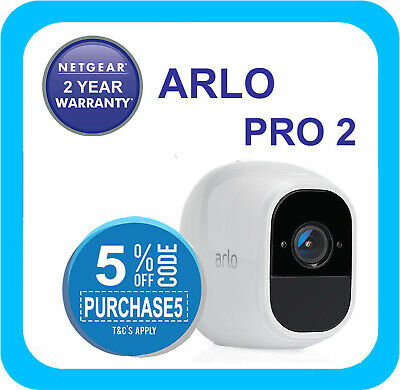 Arlo Pro 2 Add-on Smart Security HD 1080P Camera (VMC4030P) - Required Arlo Base