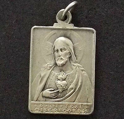 Uruguay Montevideo 1900S Archdiocese Sacred Heart Of Jesus, Mercy Antique Medal