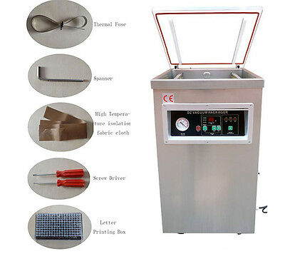 Sealing Machine Single Chamber Vacuum Packaging Machine DZ400 for Industry