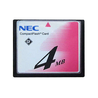 NEC 4MB CompactFlash CF storage card for CNC machine or Router flash memory card