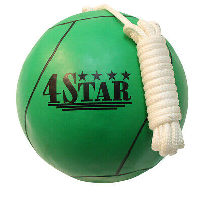 New Green Colors Tether Balls for Play Grounds & Picnics Included With Rope