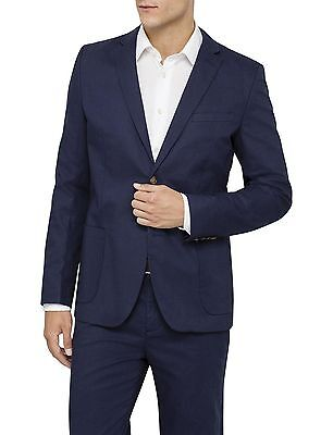 David Jones Modern Classics Cotton Linen Blazer