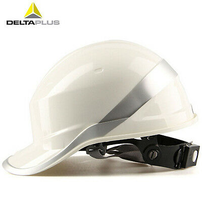 New Deltaplus Venitex Construction Ratchet Hard Hat Safety Helmet Diamond White