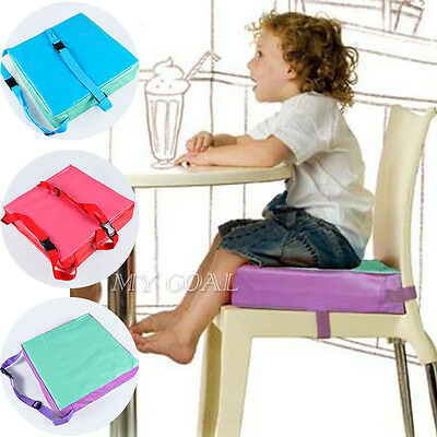 3-Styles Baby Chair Seat Pad Chair Booster Cushion Child Highchair Cover UK