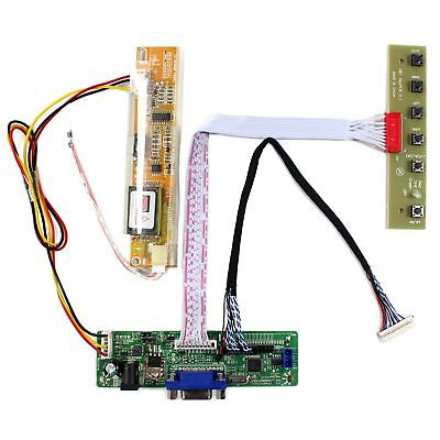 VGA input samll LCD driver board work for 12.1inch LTM12C328T 1024x768 lcd panel