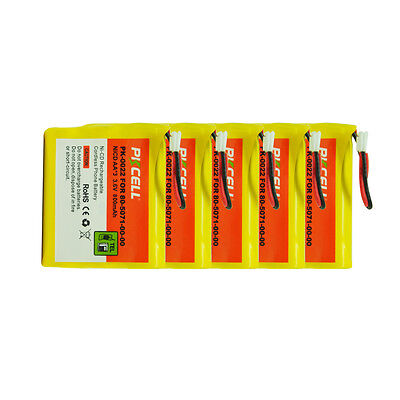 5xReplacement Cordless Phone Battery AA NiCd 800mAh 3.6V for VTech 80-5071-00-00