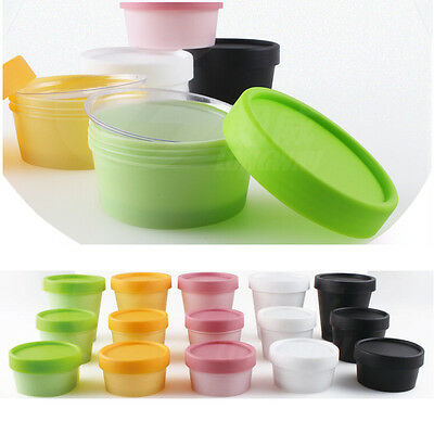 Empty Plastic Bottle Facial Mask Cosmetic Cream Containers Split Charging Jars