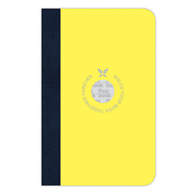 NEW Flexbook Small Yellow Ruled Smartbook