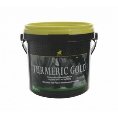 Lincoln Turmeric Gold For Horses With Added Black Pepper - 1kg