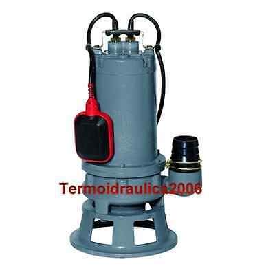 CUTTING Submersible Pump Sewage Water GRINDER 100/15M.G 0,75kW 1Hp 230V COMEX