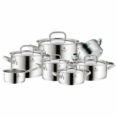 WMF Topf-Set 7-teilig Gourmet Plus Innenskalierung Dampföffnung Made in Germany