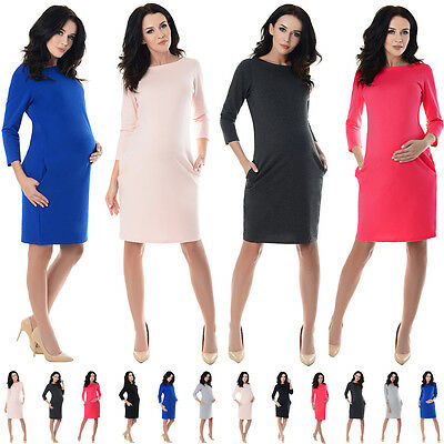 Clothes, Shoes & Accessories Maternity Purpless Maternity Stunning Sleeveless V-neck Pregnancy Dress Dresses Top D8437