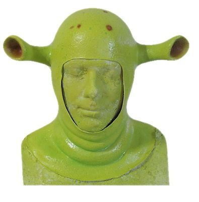 Shrek Hood Ogre Hood  Costume Prosthetic Shrek Ogre Full Head Hood  New!