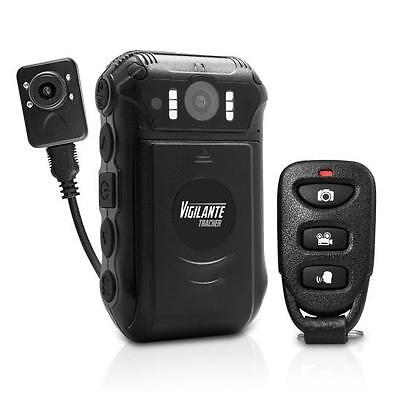 New Pyle PPBCMG18 Compact Body & Portable HD Police Cam Camera Wireless