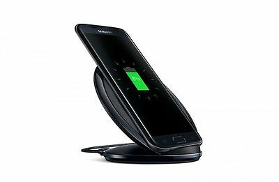 WIRELESS CHARGER PAD With STAND For Samsung Galaxy S7 Edge S6 Black BEST PRICE