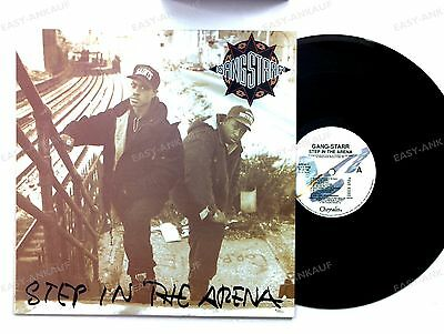 Gang Starr - Step In The Arena US LP 1990 + Innerbag //2