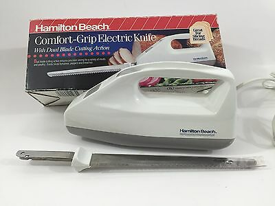 Hamilton Beach Comfort Grip Electric Knife with Dual Blade Cutting Action