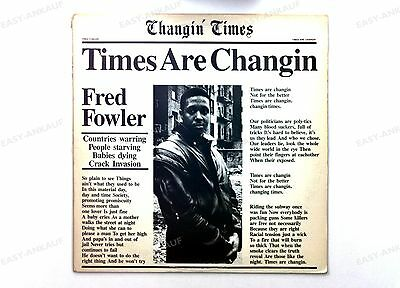 Fred Fowler - Times Are Changin' US Maxi 1988 //1