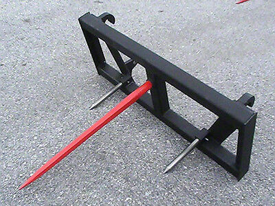 "Euro Global Bale Spear Attachment - W/49"" Spear"