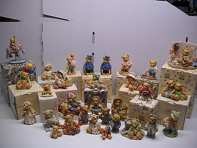 Lot Of 30 Cherished Teddies Figurines In very good condition