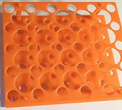 Plastic Rack for Centrifuge/Test Tube Fit 10, 15 and 50 Ml Tubes Lab Stand New