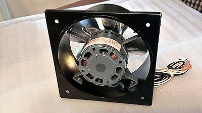 "Mclean Air Cooling 7.5"" Square Fan Magnetek Jb1N042N 1/20Hp Motor New $69"