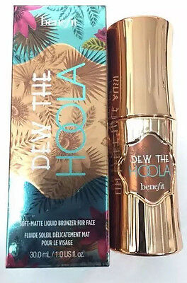 Benefit Dew the Hoola Matte Liquid Bronzer - New Boxed 30ml