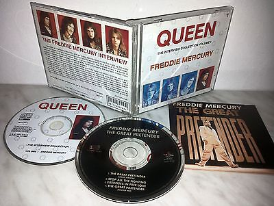 Cd Queen - The Interview Collection - Mercury + The Great Pretender - Cbak 24057